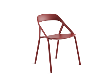 Coalesse LessThanFive Chair On White