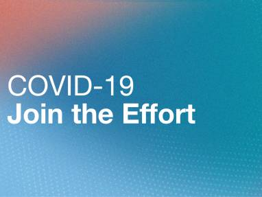 COVID19 Join the Effort banner