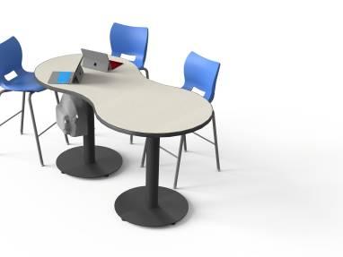 Smith System Interchange, Desk + Table, On White