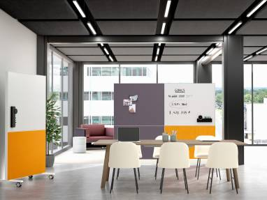 Meeting space with Textura Mobile