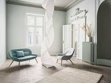 The bolia seating in a house enviroment
