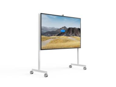 "Steelcase Roam Collection Mobile Stand for the Microsoft Surface Hub 85"" on-white"