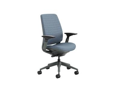 Steelcase Series 2 with Quilted Upholstery on white background