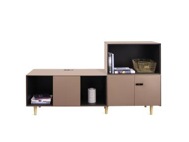 Volum Art Electrified Credenza on white background