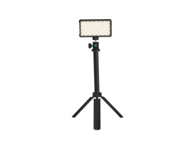 on white image of a tripod light
