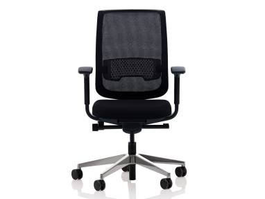 Reply chair on white background