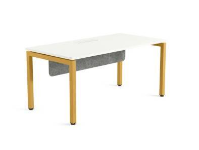Ottima Portico Desk on white background