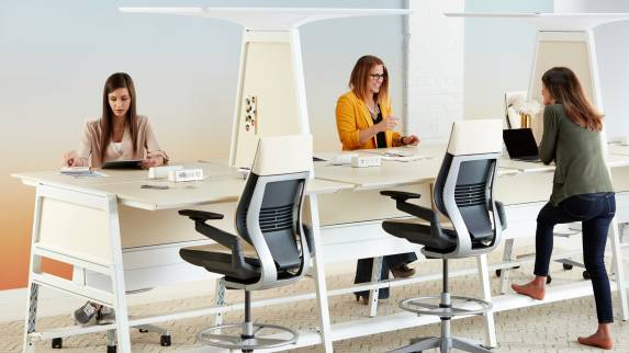 Bivi and gesture chairs