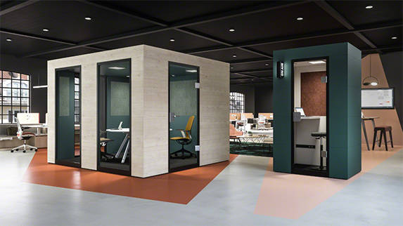 Cabines acoustiques Officebricks