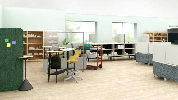 library application for post-covid learning spaces