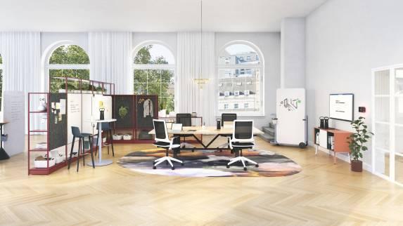 Open meeting room