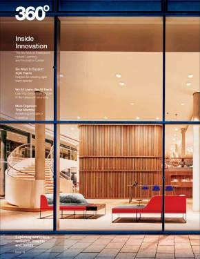 360 magazine Inside innovation cover