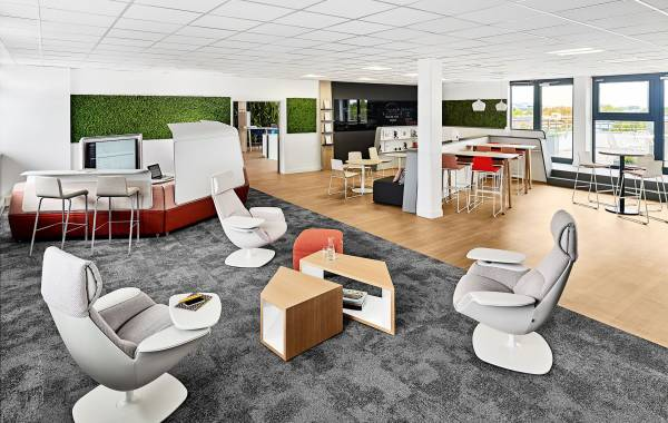 Strasbourg Business Center Workcafe
