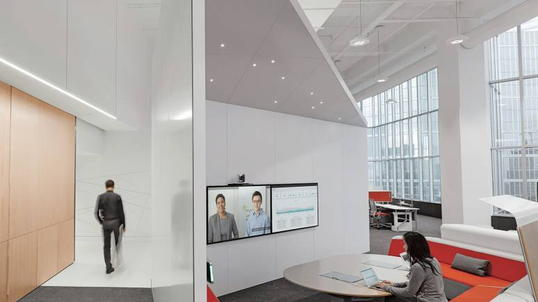 An ecosystem of spaces designed to adapt and evolve over time while fostering higher levels of employee engagement.
