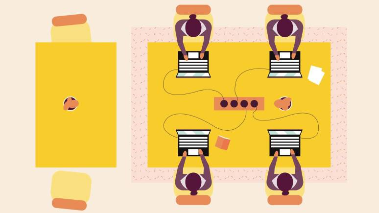 Graphic Design for Büro-Upgrade