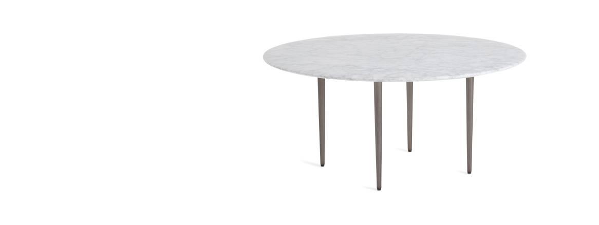 West Elm Work Horizon Round Coffee Table Steelcase
