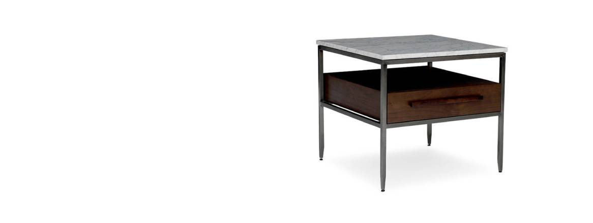MGBW Tribecca Drawer Side Table header