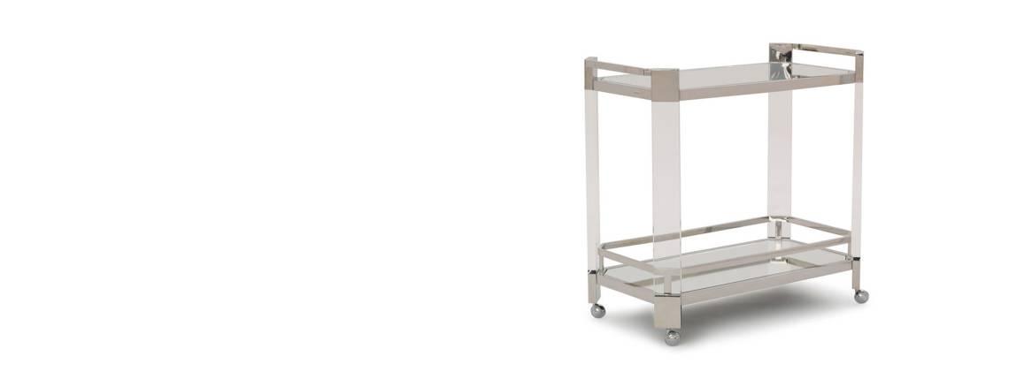 Melrose Bar Cart cabinet