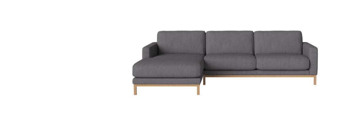 Bolia North 3 Seater with Chaise Longue Sofa header
