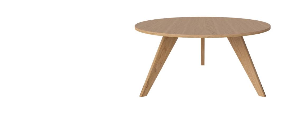 Table basse ronde New Mood Ø90