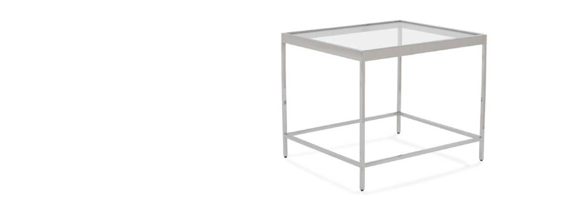 mgbw vienna square coffee table on white