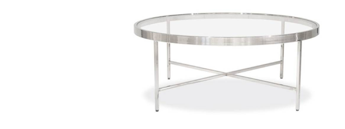 mgbw vienna round coffee table on white
