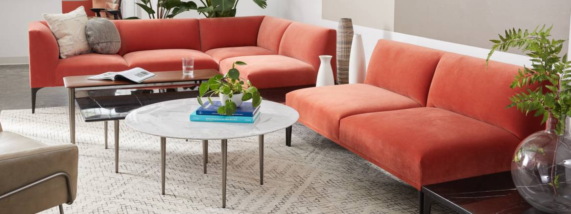 West Elm Work Mesa Sectional - Steelcase
