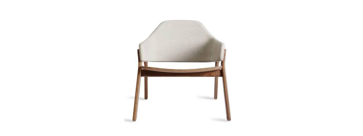 Blu Dot Clutch Lounge Chair On White