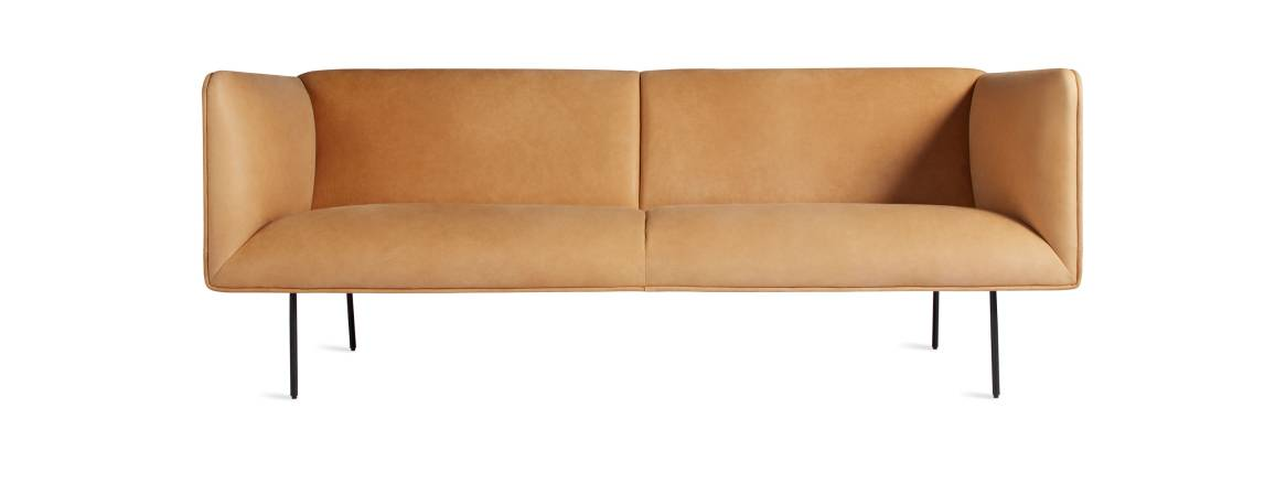 Blu Dot Dandy Leather Sofa