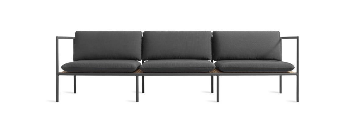Blu Dot Dog Days Outdoor 3-Seat Sofa