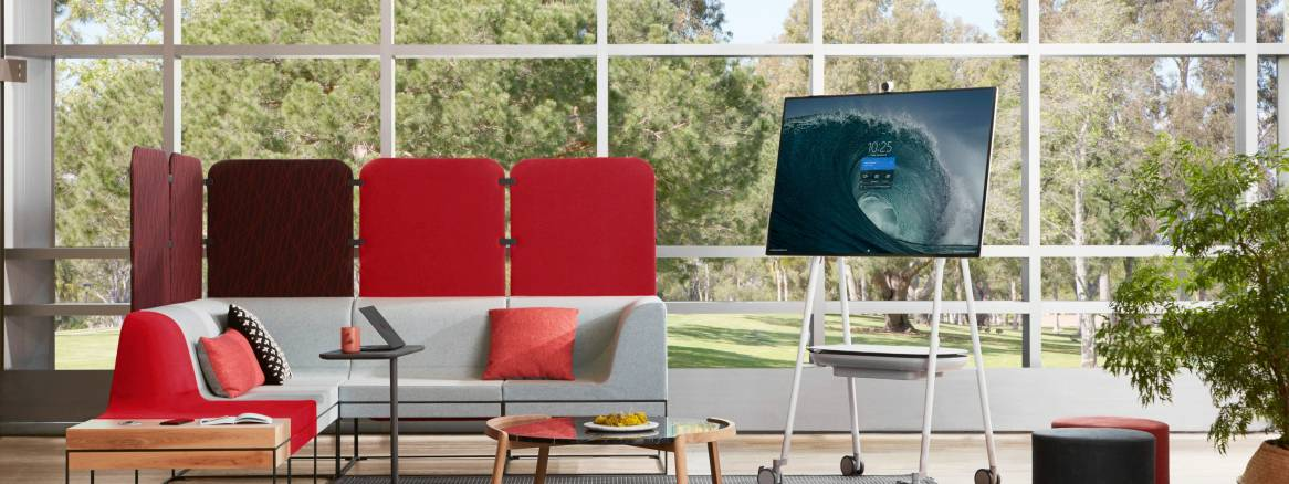 Steelcase Roam in Lounge Setting - Partners