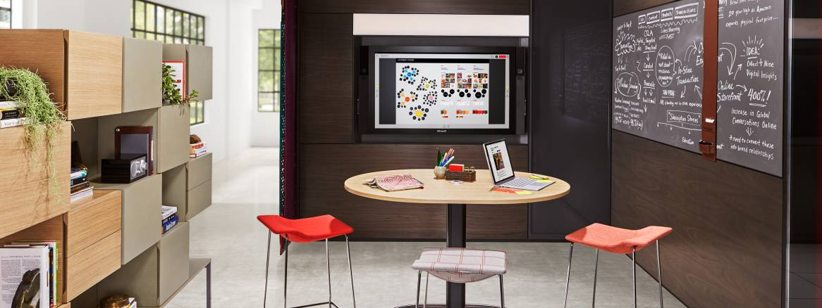 Steelcase and Microsoft Collaboration