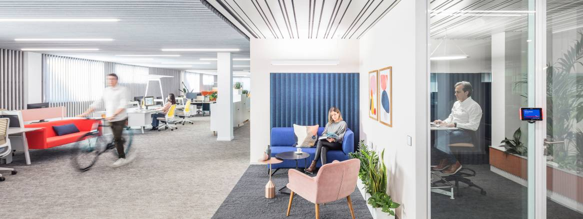 Madrid Plaza collaboration spaces