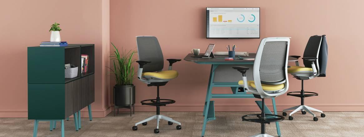 Nouveau Steelcase - Solutions de mobilier de bureau, mobilier pour l OK-97