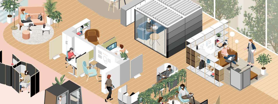 Les attentes des employés ont changé. Vos espaces de travail sont-ils prêts à y répondre ?