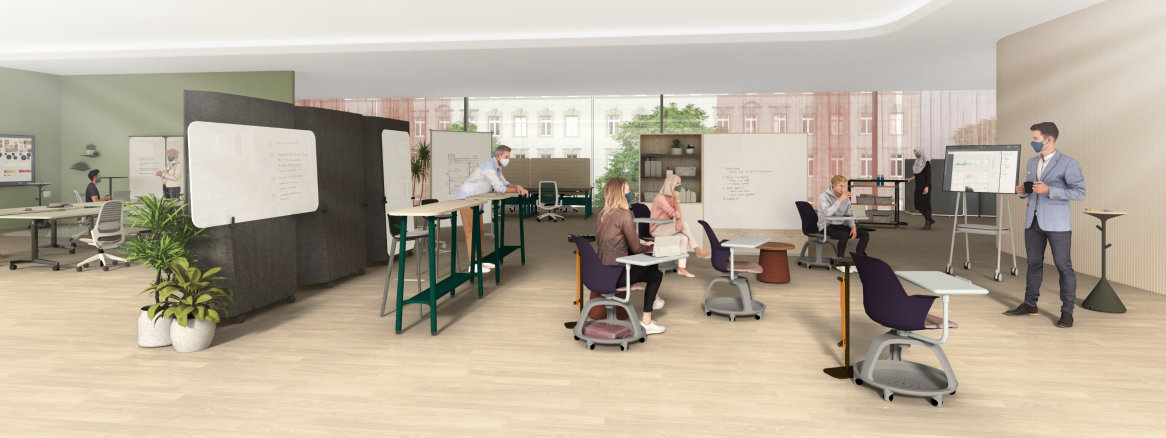 Learning Spaces banner illustration