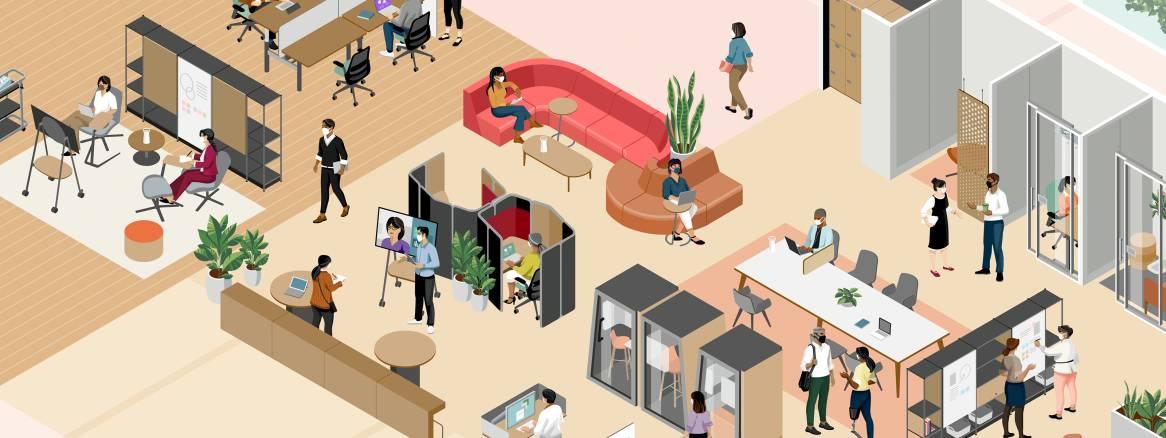 员工的期望值已然改变。<br />您的办公空间是否已经准备好?