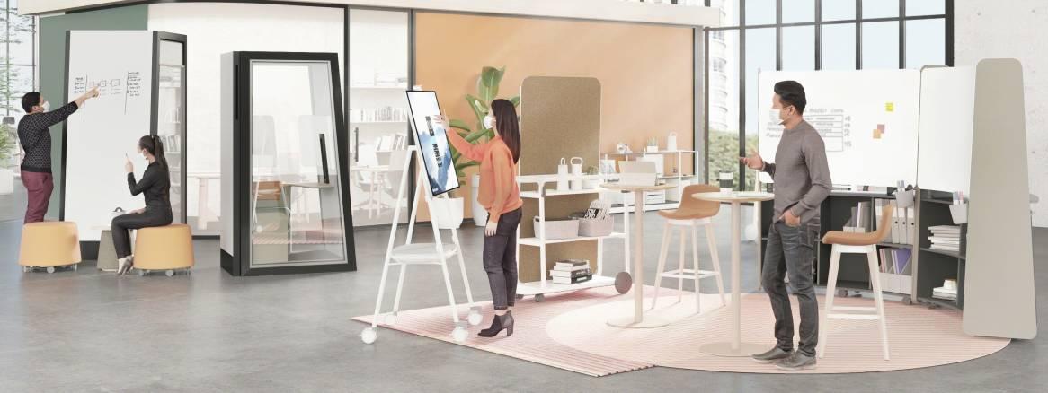 「より豊かに働く」 オフィスを再構築する