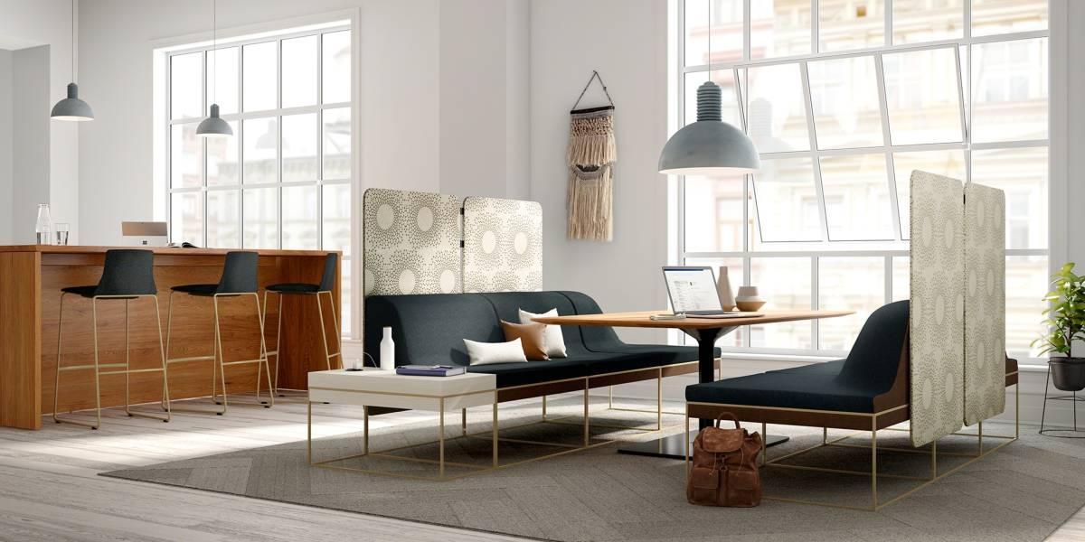 Steelcase führt Lounge-Kollektion Umami ein. - Steelcase