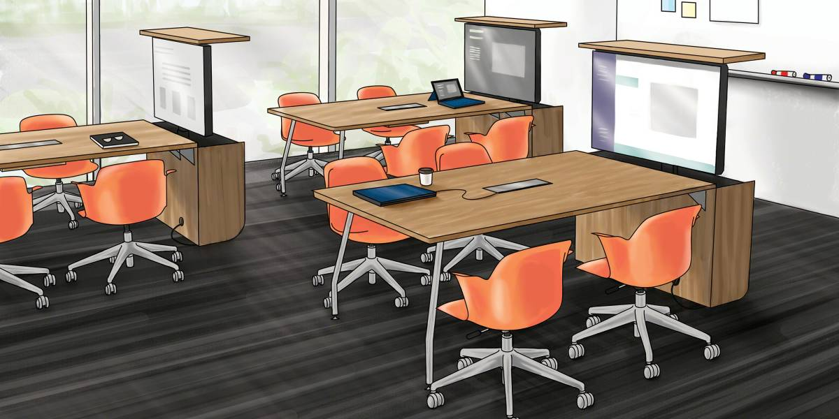 Classroom Furniture Dimensions ~ How the verb active media table is driving student