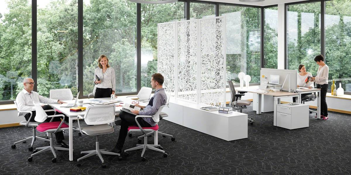 Innovative Seating Design for Workplace Wellbeing Steelcase