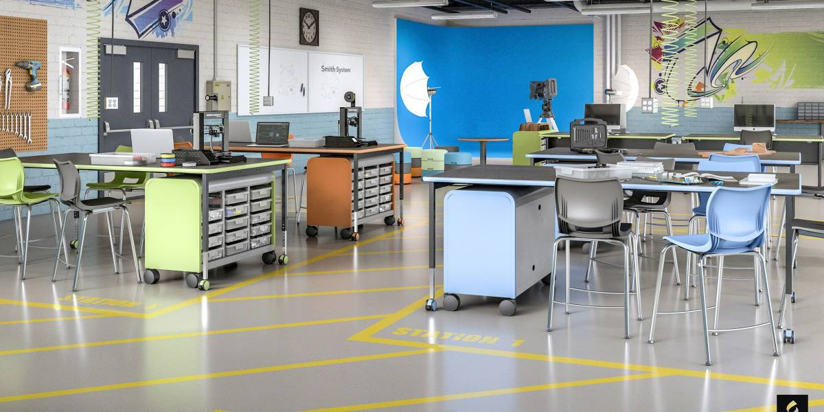 Modular Classroom Furniture ~ Steelcase to acquire education leader smith system
