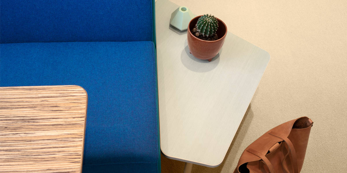 Bassline Asymmetrical Tables by Turnstone