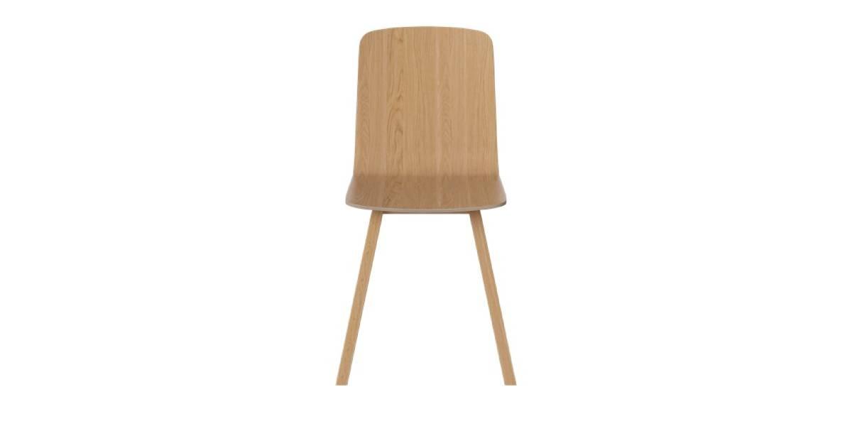 Chaise en placage Palm
