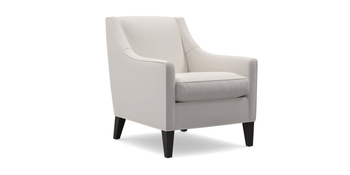 MGBW Cara Chair Low Back White