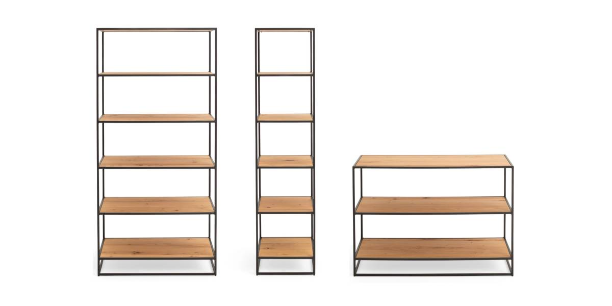 West Elm Work Greenpoint Storage Bookshelves 19-0118399 19-0118394 19-0118393