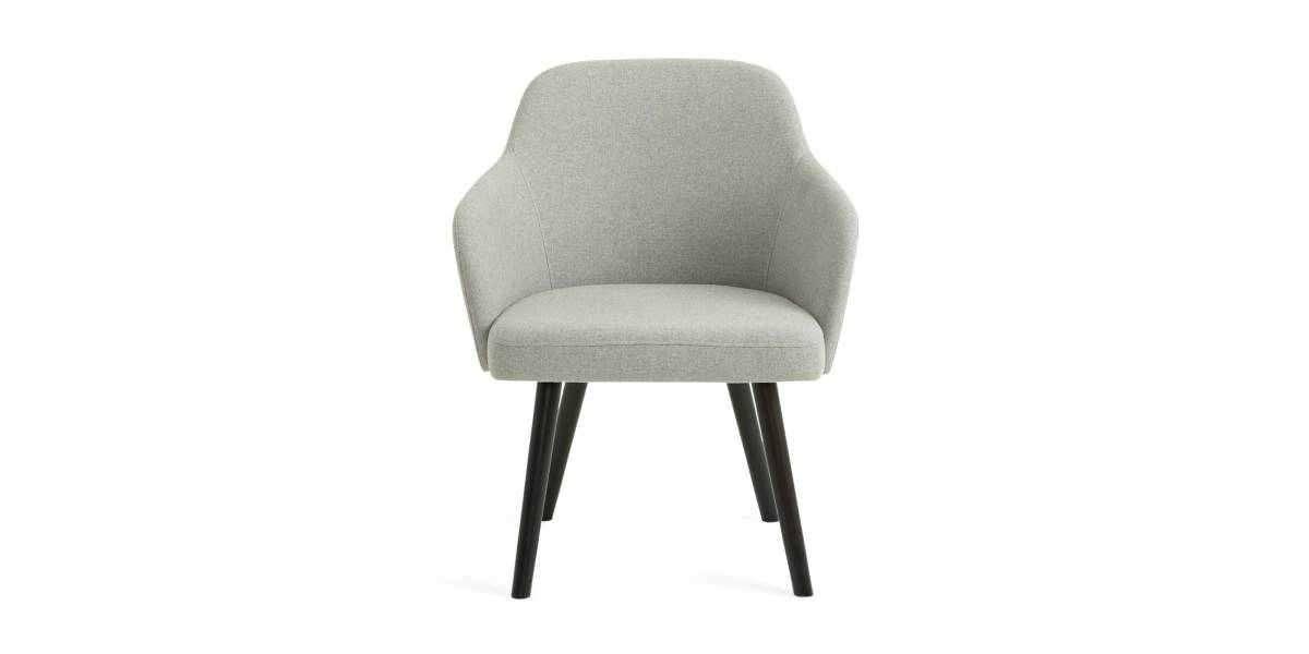West Elm Work Sterling Guest Chair with Arms