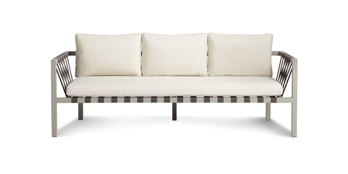 Blu Dot Jibe Outdoor 3 Seat Sofa
