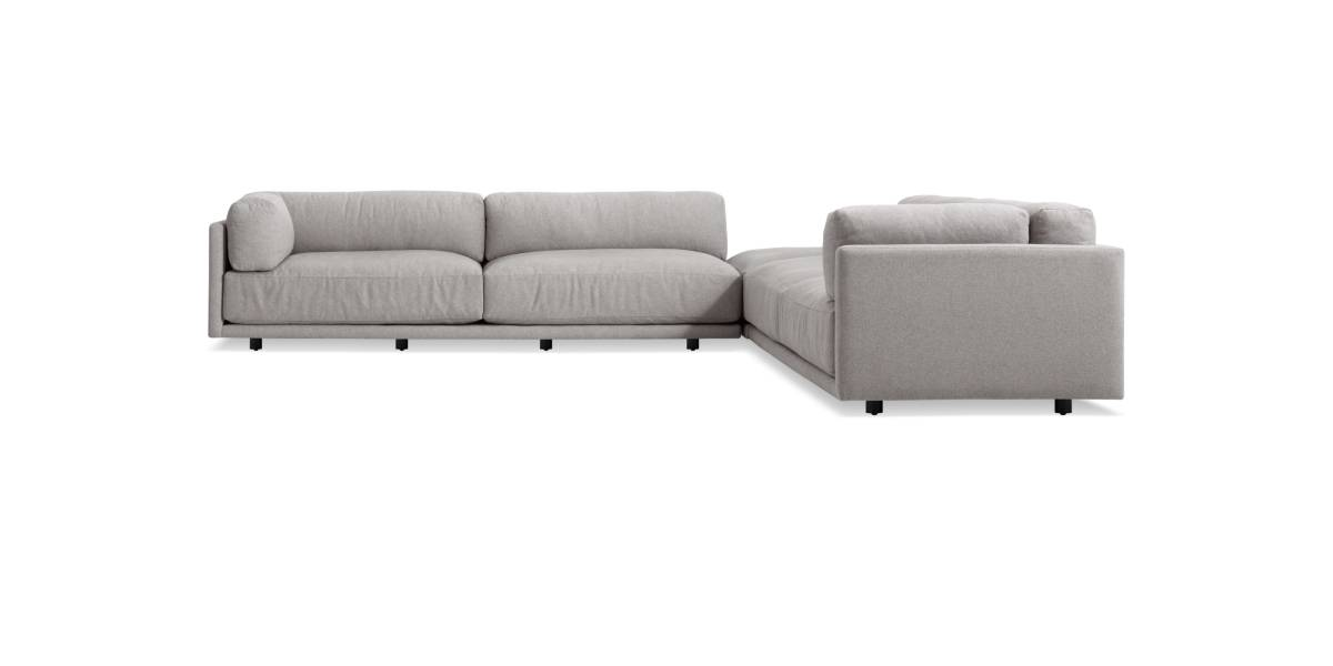 Blu Dot Sunday Backless L Sectional