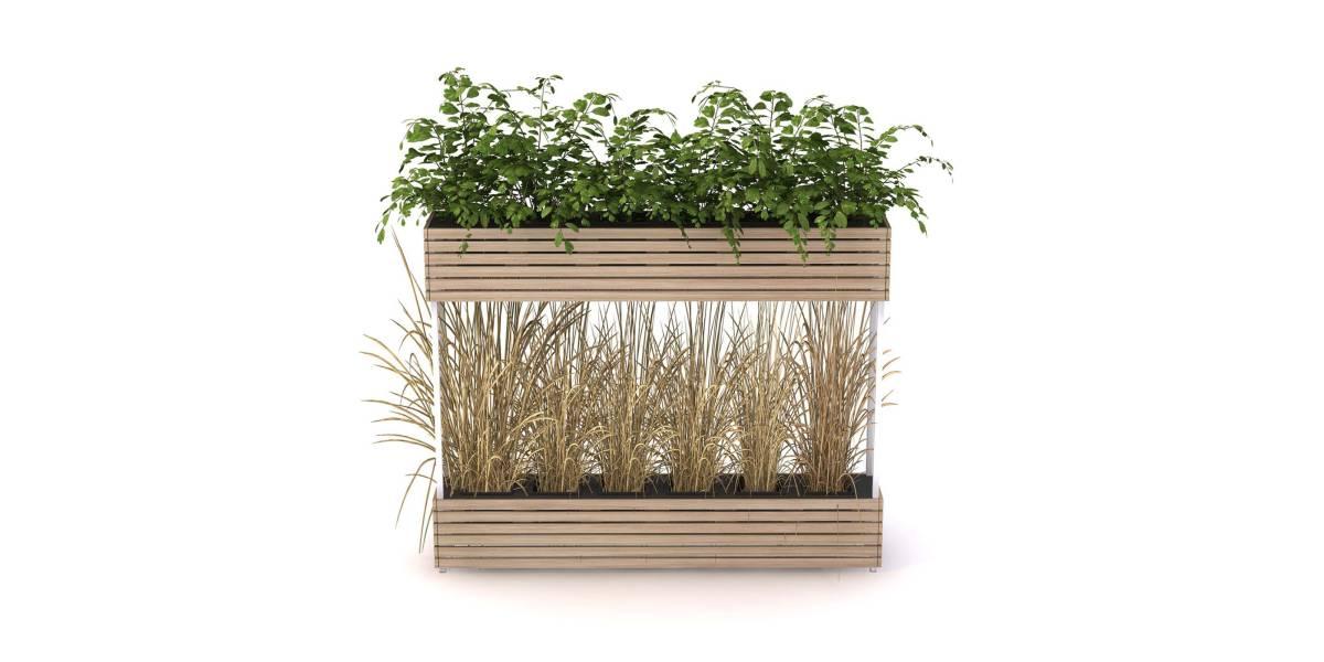 Low & High Planter